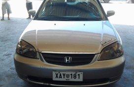 Honda Civic 2002 Manual Gasoline for sale in Guiguinto