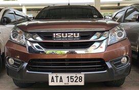 Isuzu MUX Automatic Diesel 2015 for sale