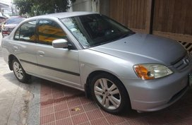 Sell 2nd Hand (Used) 2002 Honda Civic Automatic Gasoline at 140000 in Quezon City