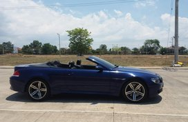 Selling Bmw M6 Convertible at 7900 km Blue