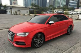 Selling 2nd Hand (Used) Audi S3 2015 Automatic Gasoline in Pasig