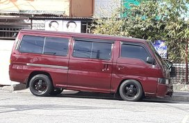 2nd Hand Red Nissan Urvan 2002 For sale in Manila