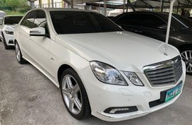 2nd Hand (Used) Mercedes-Benz E-Class 2010 for sale in Quezon City