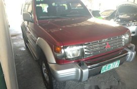 Red Mitsubishi Pajero 1995 for sale