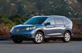 Selling Blue Honda Cr-V 2012 for sale in Manila