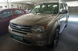 Selling Beige 2013 Ford Everest