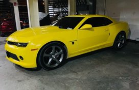 2nd Hand Chevrolet Camaro 2015 Automatic Gasoline for sale in Makati