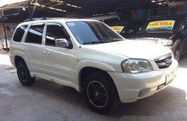Selling White 2006 Mazda Tribute at 80000 km