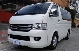 Selling Foton View Transvan 2017 in Quezon City