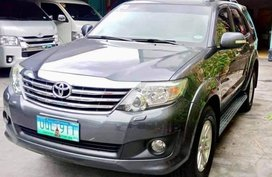 For sale 2012 Toyota Fortuner Automatic Diesel in Manila