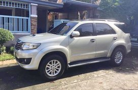 2nd Hand Toyota Fortuner 2013 Manual Diesel for sale in Laguna
