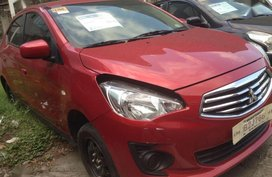 2nd Hand Mitsubishi Mirage 2017 Automatic Gasoline for sale in Parañaque