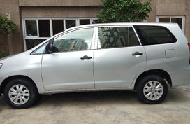 Selling Toyota Innova 2014 Manual Gasoline in Manila