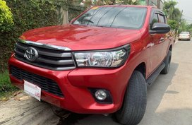 Red Toyota Hilux 2018 for sale in Quezon City