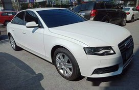 Selling White Audi A4 2012 at 21000 km