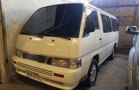 For sale White 2015 Nissan Urvan at Manual Diesel