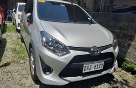Silver Toyota Wigo 2019 Manual Gasoline for sale in Quezon City