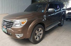 Brown Ford Everest 2012 Automatic Diesel for sale in Pasig