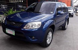 Selling Blue Ford Escape 2012 Automatic Gasoline