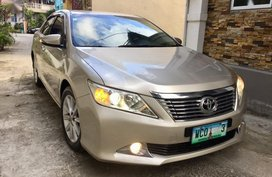 Selling Used Toyota Camry 2013 in Quezon City