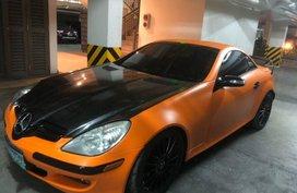 Mercedes-Benz Slk-Class 2005 Convertible for sale in Parañaque