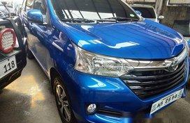 Selling Blue Toyota Avanza 2018