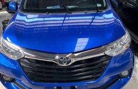Blue Toyota Avanza 2018 Manual Gasoline for sale in Quezon City