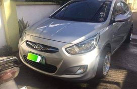 2nd Hand Hyundai Accent 2012 at 80000 km for sale in Manila