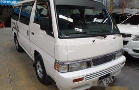 Selling White Nissan Urvan 2015 Manual Diesel