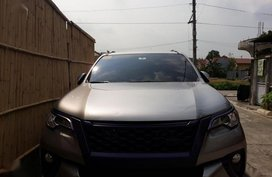 Selling Toyota Fortuner 2018 Automatic Diesel