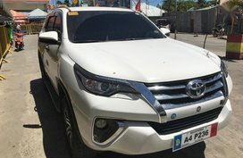 Used Toyota Fortuner 2018 Automatic Diesel for sale in Quezon City