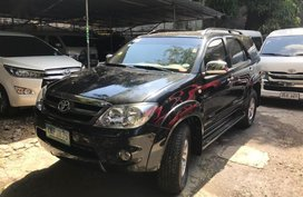 2nd Hand Toyota Fortuner 2007 Automatic Diesel for sale in Quezon City