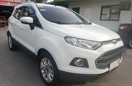 Selling White 2015 Ford Ecosport at Automatic Gasoline