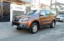 2nd Hand Brown 2016 Isuzu Mu-X for sale in Pasig
