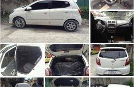 White Toyota Wigo 2016 for sale