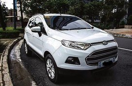 Selling White Ford Ecosport 2017 Automatic Gasoline