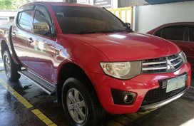 Selling Mitsubishi Strada 2010 Manual Diesel in Calamba