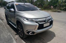 Mitsubishi Montero Sport 2017 Manual Diesel for sale in Davao City