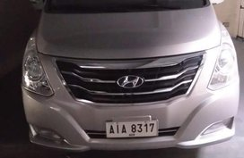 Silver Hyundai Starex 2014 at 50000 km for sale
