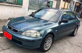 Selling Blue Honda Civic 1996 Automatic Gasoline in Cainta