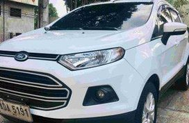 White Ford Ecosport 2015 Manual Gasoline for sale in Las Pinas