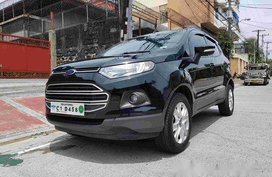 Sell Black 2018 Ford Ecosport at 9000 km in Quezon City