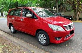 2012 Toyota Innova 2.5 E Automatic for sale