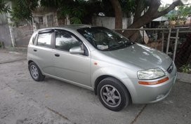 Selling Chevrolet Aveo 2005 Hatchback Automatic Gasoline in Calamba