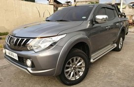 For sale 2017 Mitsubishi Strada Manual Diesel in Pasig