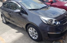 Sell 2nd Hand 2016 Kia Rio Manual Gasoline at 31000 km in Davao City