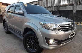2nd Hand Toyota Fortuner 2015 at 42000 km for sale in Pasig