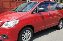 Sell Red 2015 Toyota Innova in Quezon City