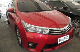 Selling Red Toyota Corolla Altis 2014 at 43344 km