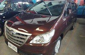 Selling Brown Toyota Innova 2014 Manual Diesel in General Salipada K. Pendatun